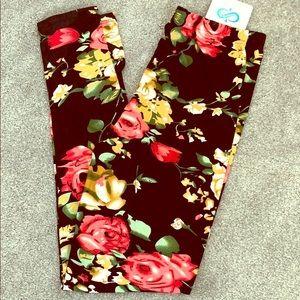 Infinity Raine Floral leggings.
